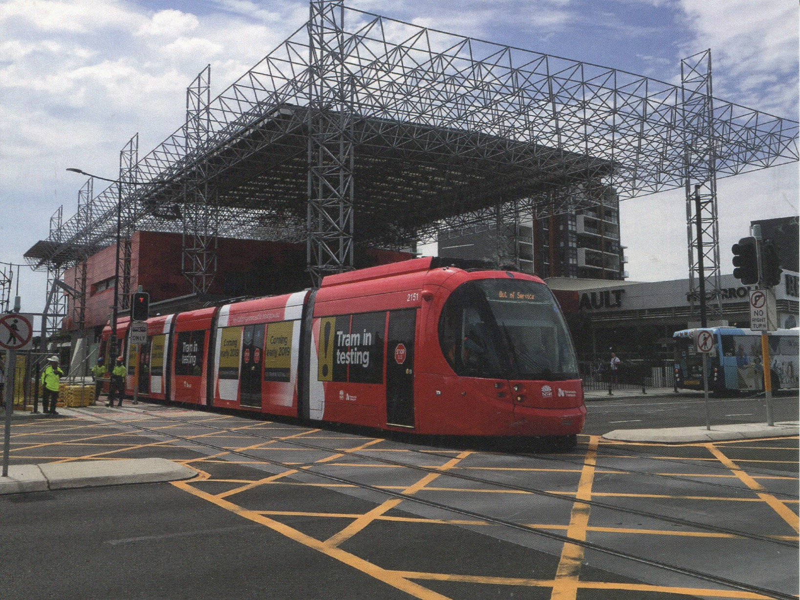 Australia - NSW - City of Newcastle Light Rail (Tramway)